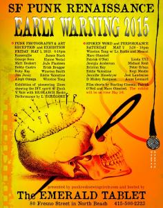 early warning poster